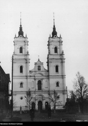 Dyneburg, Kościół Niepokalanego Poczęcia Najświętszej Marii Panny /Z archiwum Narodowego Archiwum Cyfrowego