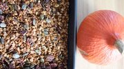 Dyniowa granola z orzechami pekan