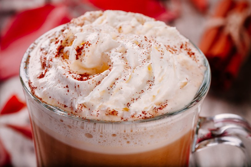Dyniowa latte /123RF/PICSEL