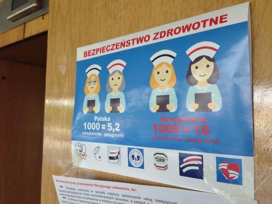 Dyrekcja ma nową propozycję dla pielęgniarek. Nie ujawniła jej jednak przed wznowieniem negocjacji /Romuald Kłosowski  /RMF FM