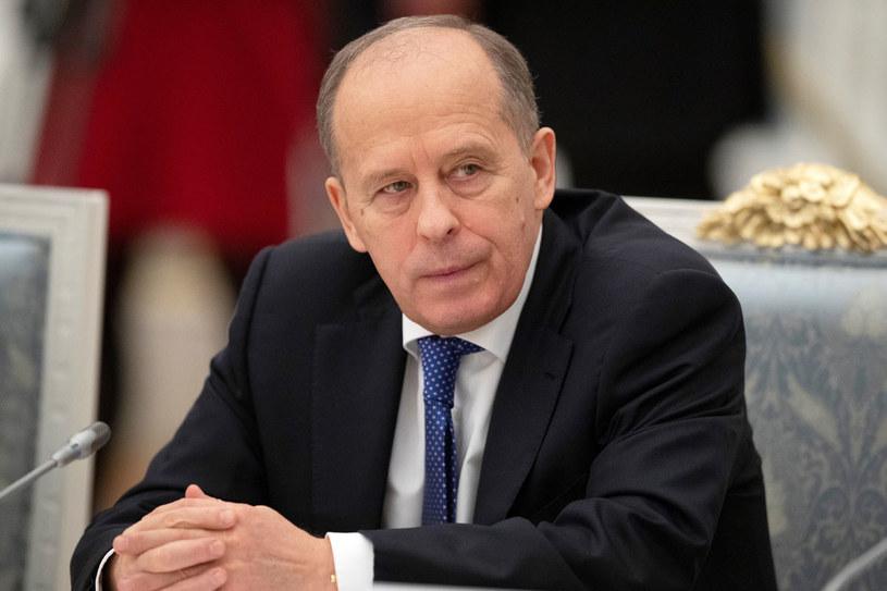 Dyrektor Federalnej Służby Bezpieczeństwa (FSB) Rosji Aleksandr Bortnikow /PAVEL GOLOVKIN /AFP