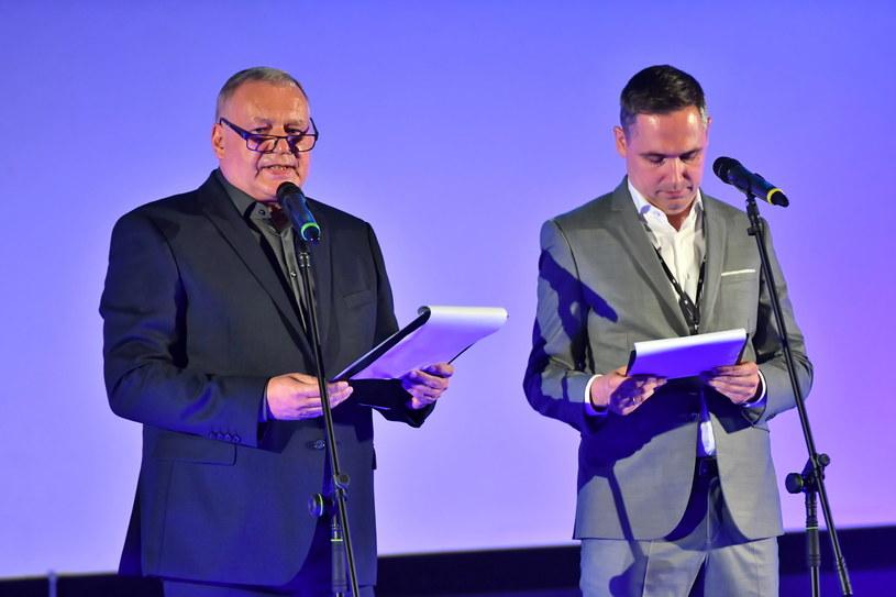 Dyrektor festiwalu Roman Gutek i dyrektor artystyczny imprezy Marcin Pieńkowski / Maciej Kulczyński    /PAP