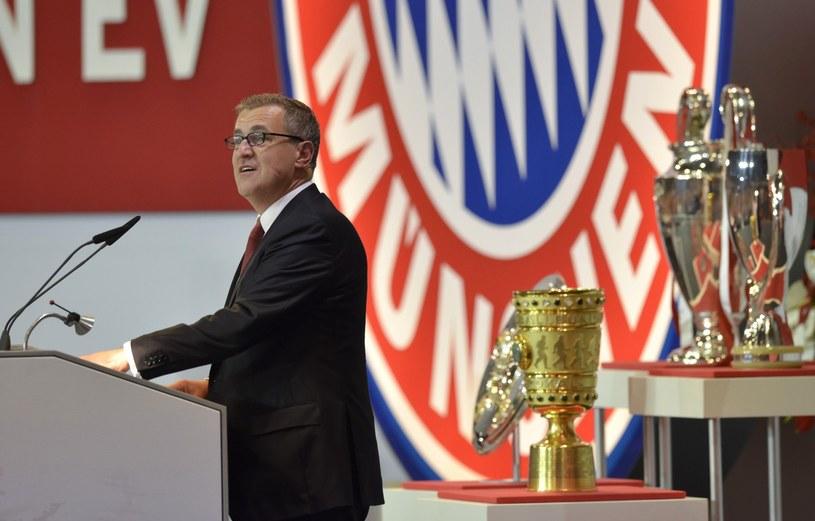 Dyrektor finansowy Bayernu Jan-Christian Dreesen /AFP