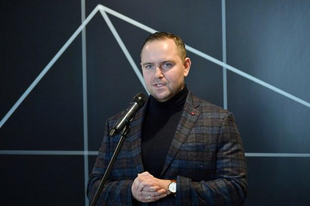 Dyrektor gdańskiego muzeum Karol Nawrocki / Adam Warżawa    /PAP