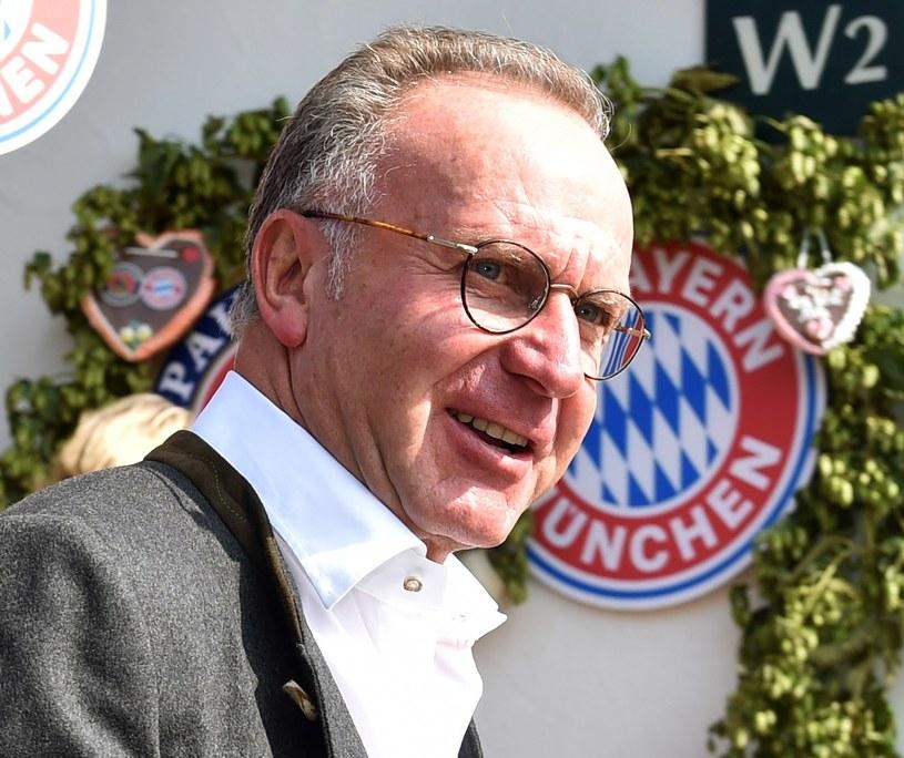 Dyrektor generalny Bayernu Monachium Karl-Heinz Rummenigge /AFP