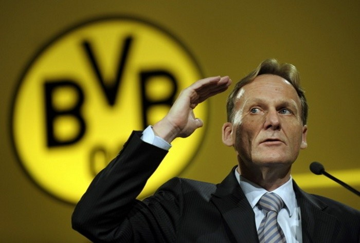 Dyrektor generalny Borussii Dortmund Hans-Joachim Watzke /AFP