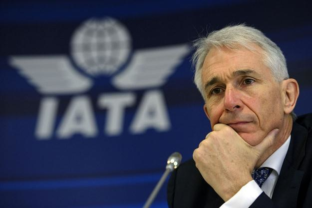 Dyrektor generalny IATA Tony Tyler /AFP
