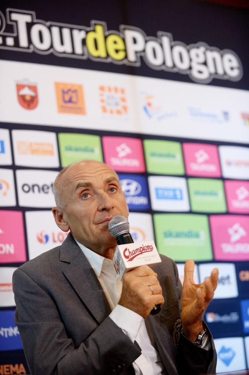 Dyrektor generalny Lang Team Czesław Lang /Bartłomiej Zborowski /PAP