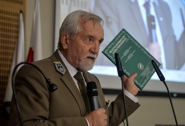 Dyrektor generalny Lasów Państwowych Konrad Tomaszewski /PAP
