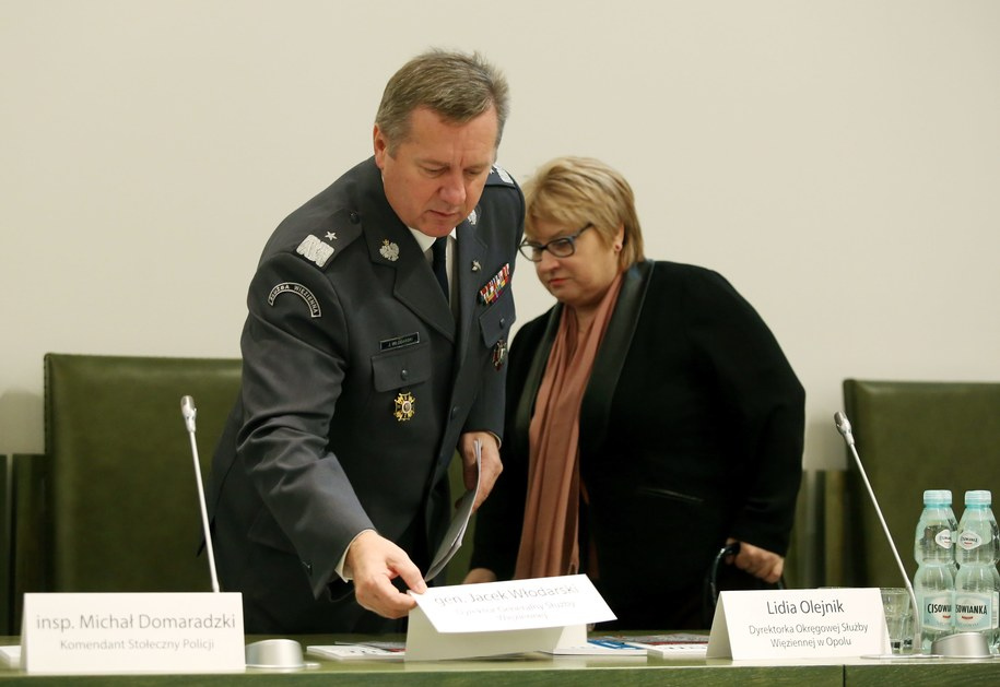 Dyrektor generalny Służby Więziennej Jacek Włodarski złożył rezygnację / Tomasz Gzell    /PAP