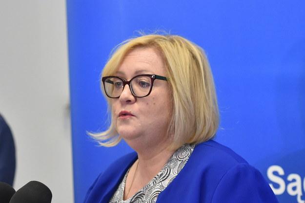 Dyrektor Krajowej Szkoły Sądownictwa i Prokuratury Małgorzata Manowska /Jacek Bednarczyk /PAP