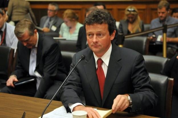 Dyrektor naczelny BP Tony Hayward /AFP