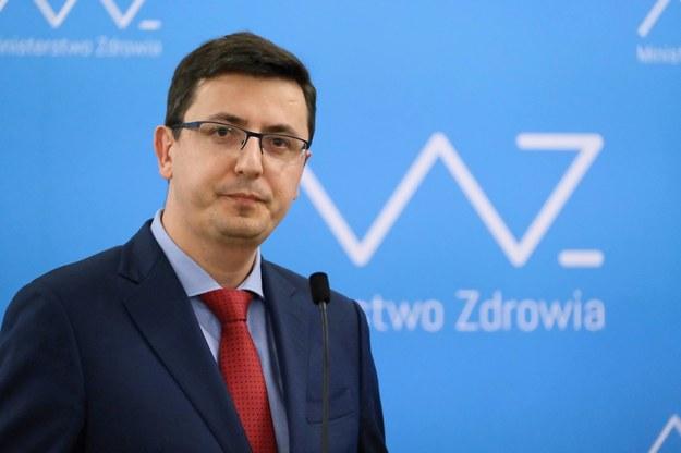 Dyrektor NIZP-PZH Grzegorz Juszczyk /Mateusz Marek /PAP