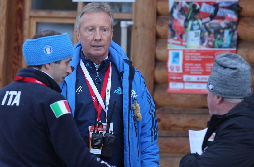 Dyrektor Pucharu Świata w skokach narciarskich Walter Hofer w Wiśle-Malince /Andrzej Grygiel /PAP