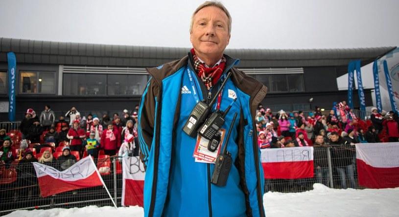 Dyrektor Pucharu Świata w skokach narciarskich Walter Hofer /Michał Lepecki /