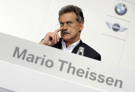 Dyrektor sportowy BMW Sauber Mario Theissen /AFP