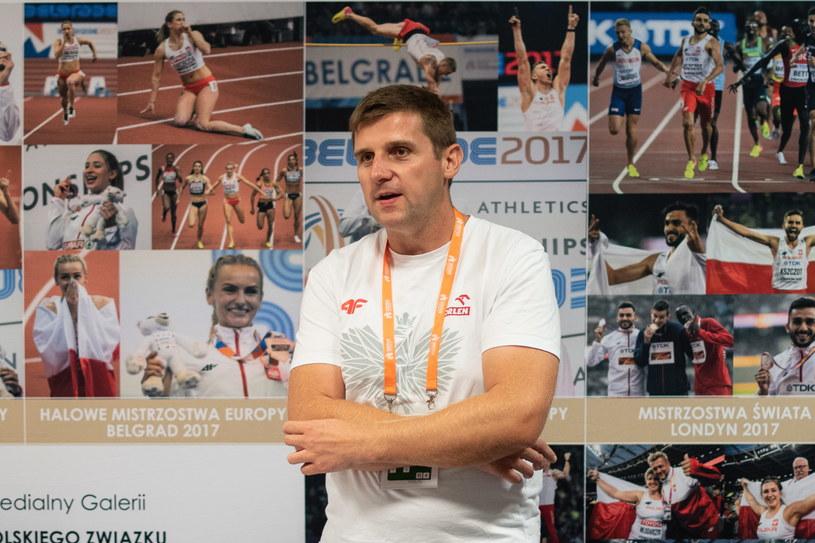 Dyrektor sportowy Krzysztof Kęcki /TOMASZ KASJANIUK PZLA /Newspix