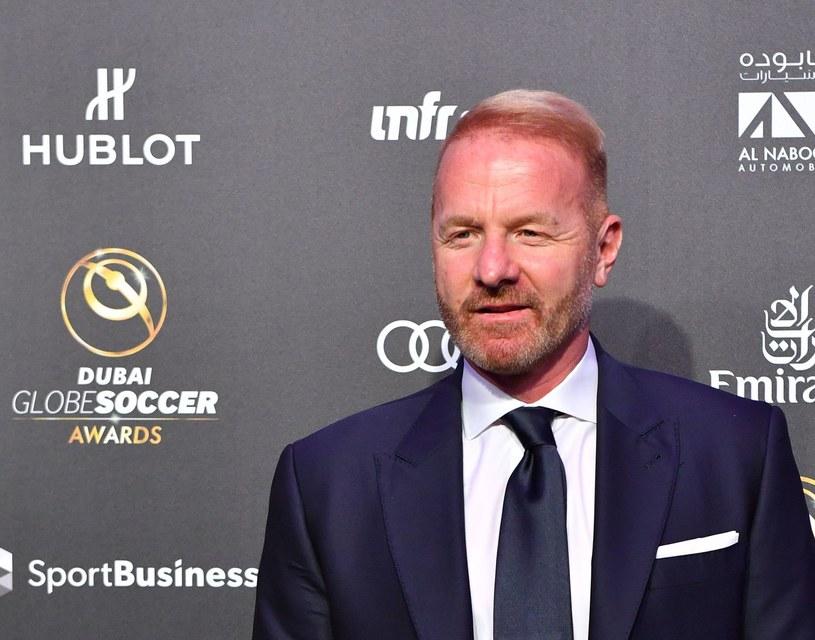 Dyrektor sportowy Lazio Rzym Igli Tare /AFP