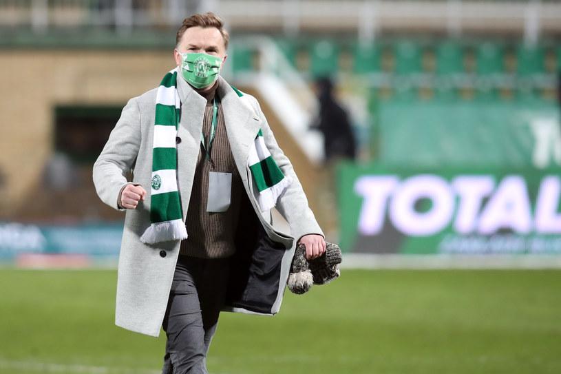 Dyrektor sportowy Warty Poznań Robert Graf /Fot. Jakub Piasecki /Newspix