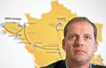 Dyrektor Tour de France Christian Prudhomme /AFP