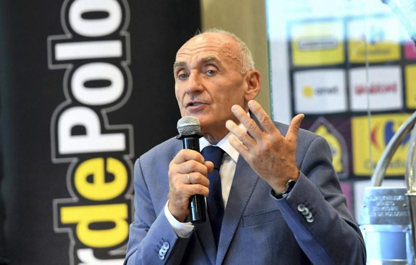 Dyrektor Tour de Pologne Czesław Lang /Piotr Nowak /PAP
