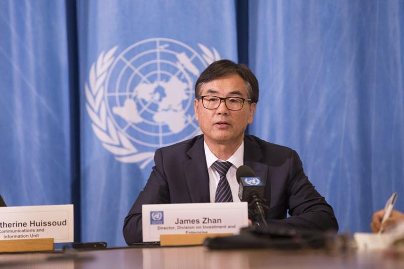 Dyrektor UNCTAD James Zhan /Xu Jinquan/Xinhua News /East News