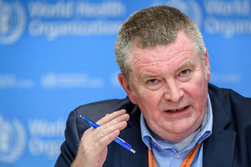 Dyrektor WHO ds. sytuacji kryzysowych dr Michael Ryan /FABRICE COFFRINI / AFP /East News
