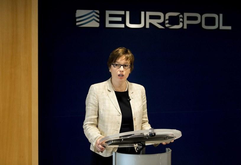 Dyrektor wykonawcza Europolu Catherine De Belle /AFP