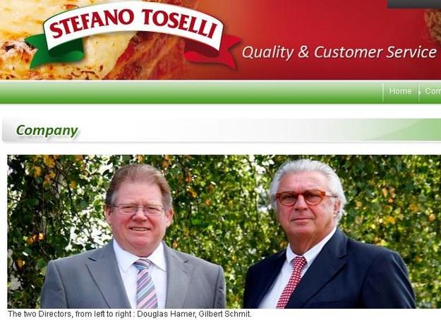 Dyrektorzy Stefano Toselli: Douglas Hamer (L) i Gilbert Schmit (P) /&nbsp