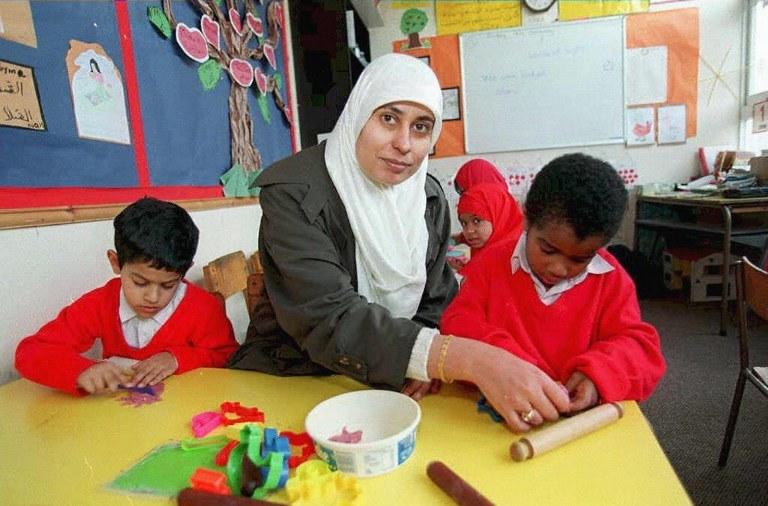 Dyrektorzy szkół w W. Brytanii apelują, że powtarzają się próby islamizacji szkolnictwa; zdj. ilustracyjne /DAVID JONES / PA /AFP