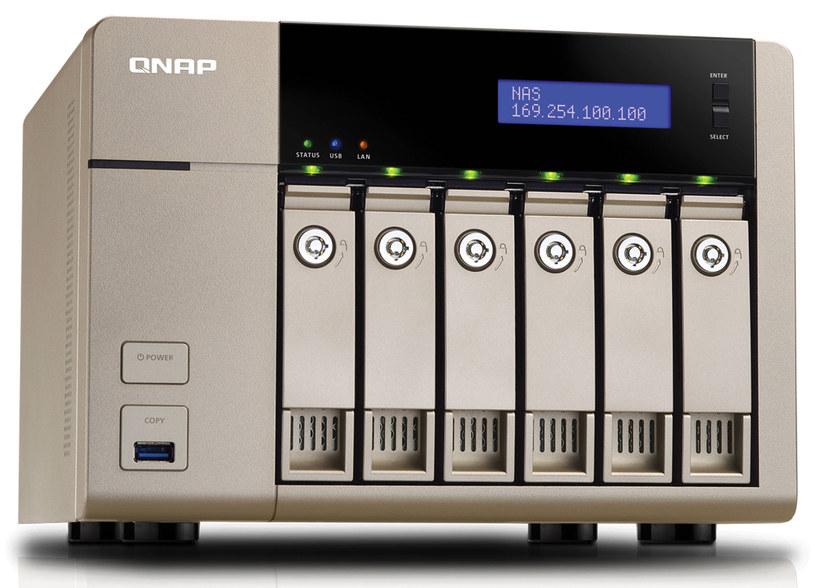 Dysk NAS QNAP TVS-663 /materiały prasowe