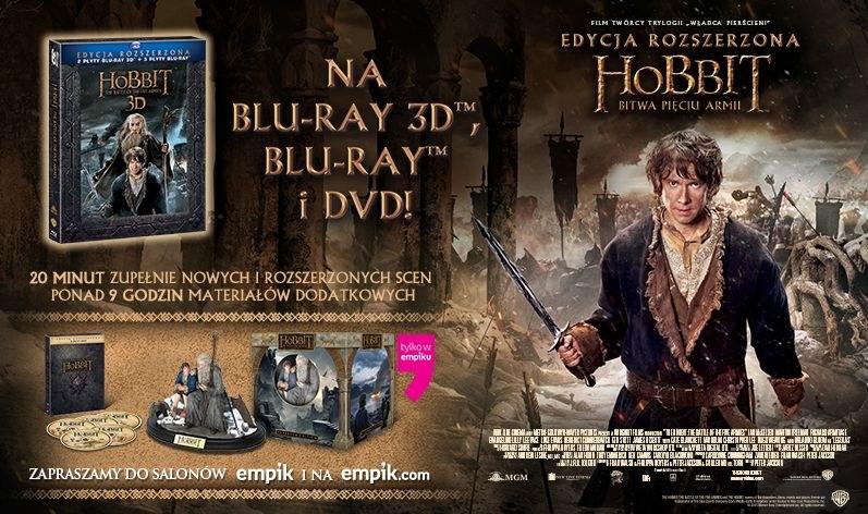 """Dystrybutorem Blu-ray i DVD z filmem """"Hobbit: Bitwa Pięciu Armii"""" jest Galapagos Films /materiały dystrybutora"""
