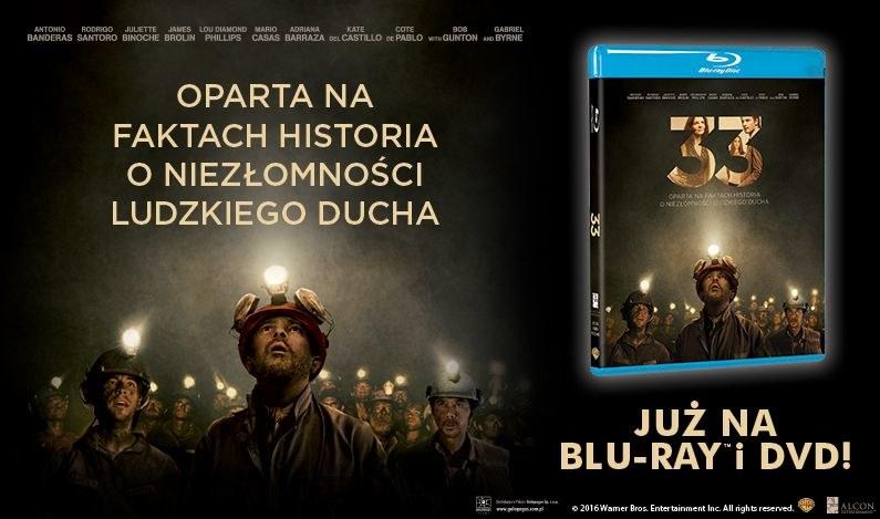 "Dystrybutorem filmu ""33"" na płytach Blu-ray i DVD jest Galapagos Films /materiały dystrybutora"