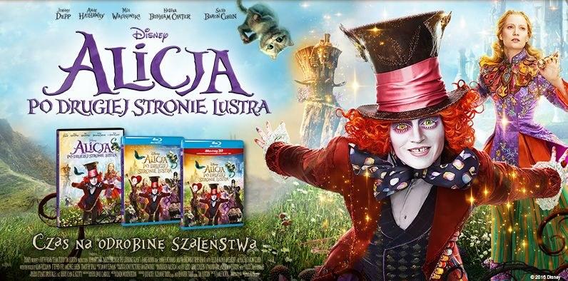 """Dystrybutorem filmu """"Alicja po drugiej stronie lustra"""" na płytach DVD i Blu-ray jest Galapagos Films /materiały dystrybutora"""