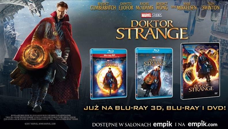 "Dystrybutorem filmu ""Doktor Strange"" na płytach DVD, Blu-ray i Blu-ray 3D jest Galapagos Films /materiały dystrybutora"