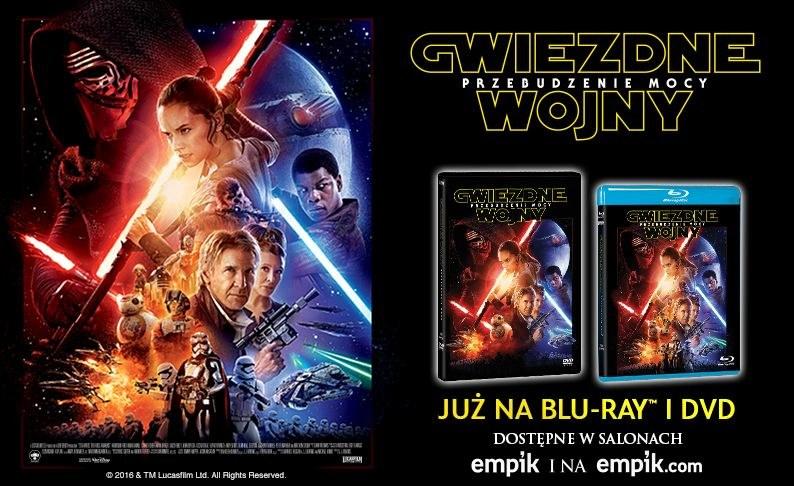 """Dystrybutorem filmu """"Gwiezdne wojny: Przebudzenie Mocy"""" na płytach Blu-ray i DVD jest Galapagos Films /materiały dystrybutora"""