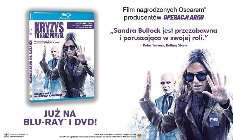 """Dystrybutorem filmu """"Kryzys to nasz pomysł"""" na płytach Blu-ray i DVD jest Galapagos Films /materiały dystrybutora"""