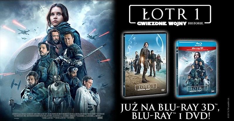 """Dystrybutorem filmu """"Łotr 1. Gwiezdne wojny - historie"""" na płytach Blu-ray 3D, Blu-ray i DVD jest Galapagos Films /materiały dystrybutora"""