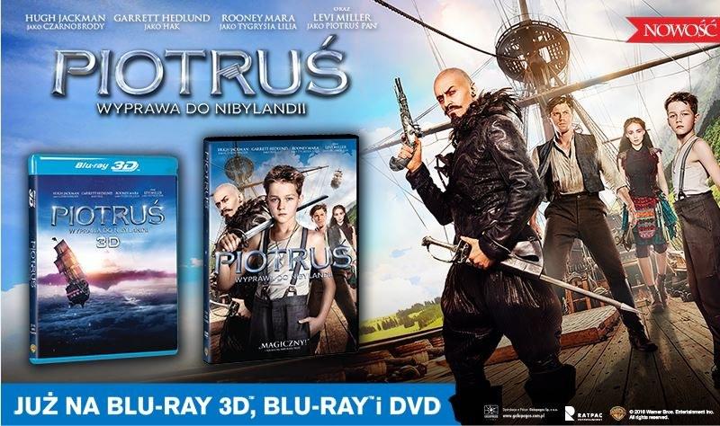 """Dystrybutorem filmu """"Piotruś. Podróż do Nibylandii"""" na płytach Blu-ray i DVD jest Galapagos Films /materiały dystrybutora"""