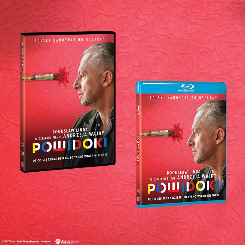"""Dystrybutorem filmu """"Powidoki"""" na płytach Blu-ray i DVD jest Galapagos Films /materiały dystrybutora"""