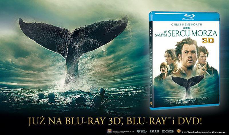 """Dystrybutorem filmu """"W samym sercu morza"""" na płytach Blu-ray 3D,Blu-ray i DVD jest Galapagos Films /materiały dystrybutora"""