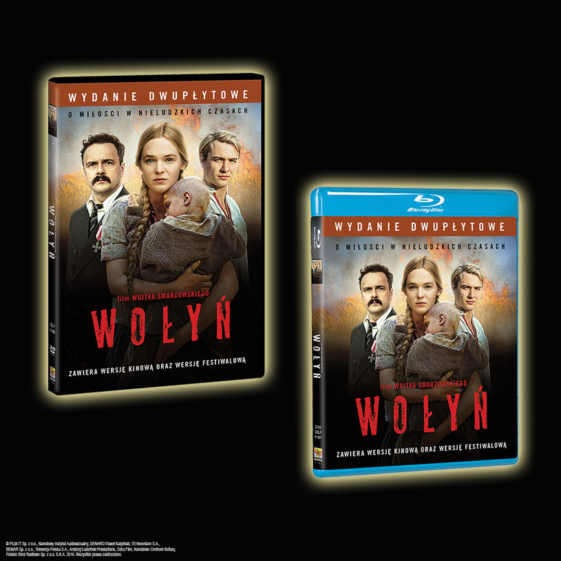 "Dystrybutorem filmu ""Wołyń"" na płytach Blu-ray i DVD jest Galapagos Films /materiały dystrybutora"