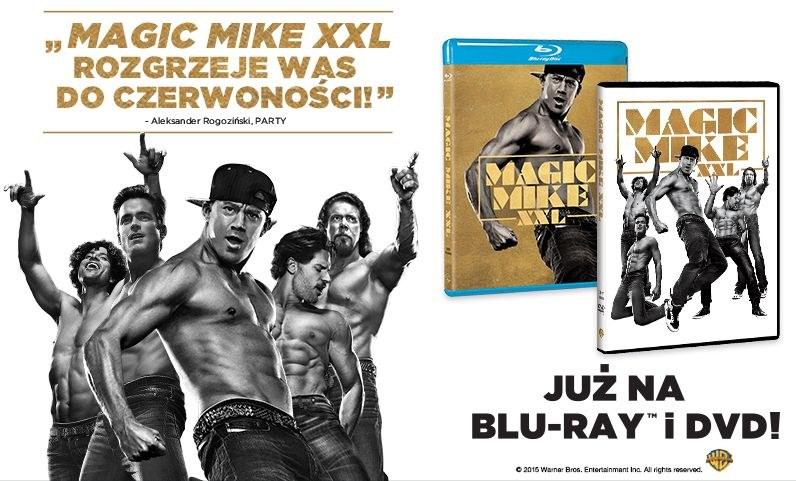 """Dystrybutorem płyt DVD i Blu-ray z filmem """"Magic Mike XXL"""" jest Galapagos Films /materiały dystrybutora"""