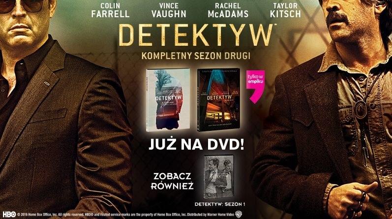 """Dystrybutorem serialu """"Detektyw"""" na płytach DVD jest Galapagos Films /materiały dystrybutora"""