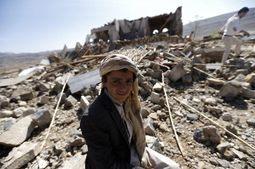 Dystrykt Arhab w Jemenie, gdzie od miesięcy trwają walki /MOHAMMED HUWAIS /AFP