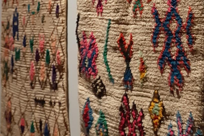 Dywany nie były tworzone z myślą o sprzedaży lub wystawach, a dla codziennego użytkowania, fot. I. Grelowska /Styl.pl