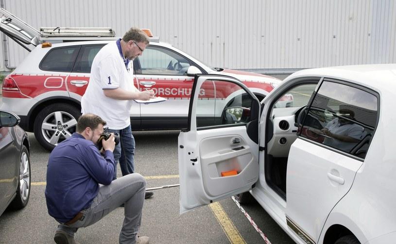 Dział badań Volkswagena analizujący wypadki /INTERIA.PL/informacje prasowe