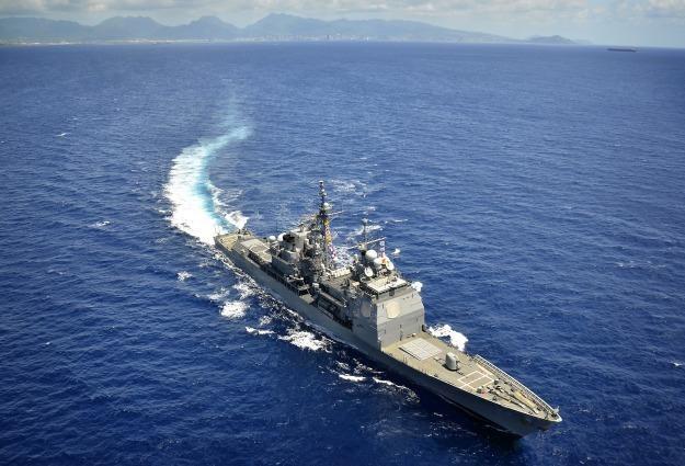 Działa laserowe pojawią się na pokładach m. in. niszczycieli.   Fot. NAVY /materiały prasowe