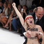 Działaczki Femenu zakłócają pokaz mody