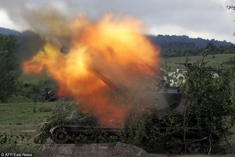 Działania zbrojne Rosji prowadzone w Osetii Południowej /East News